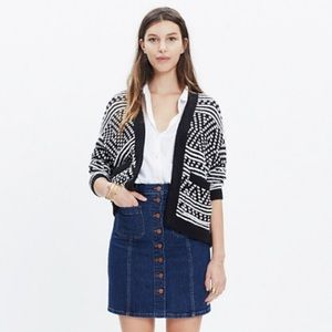Madewell Saunter Cardigan Sweater